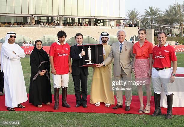 Ali Al Bawardi Lubna bint Khalid bin Sultan Al Qasimi Louis Ferla Managing Director of Cartier Middle East Sheikh Majid Bin Mohammed Bernard Fornas...