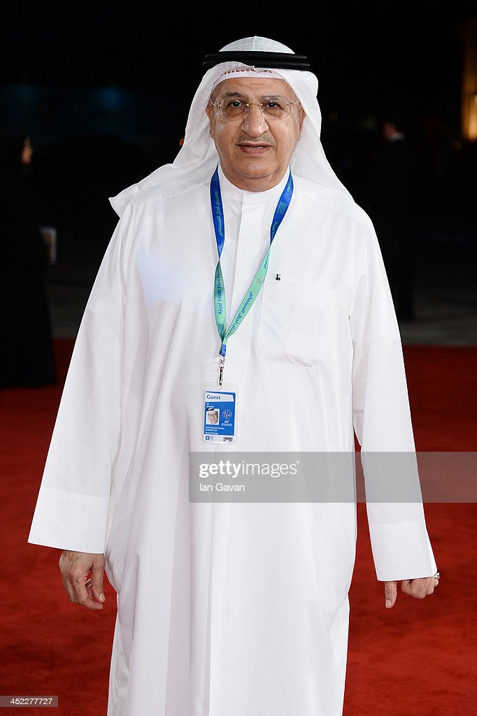 Ali Al Rayes attends the 'On the Way to School' Premiere during day 2 of Ajyal Youth Film Festival on November 27, 2013 in Doha, Qatar.