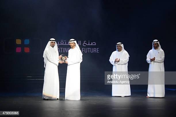 Ali Alzaidi wins the Hamdan International Photography Award's wins the Creating The Future competition on March 172014 in Dubai Winners of the Hamdan...