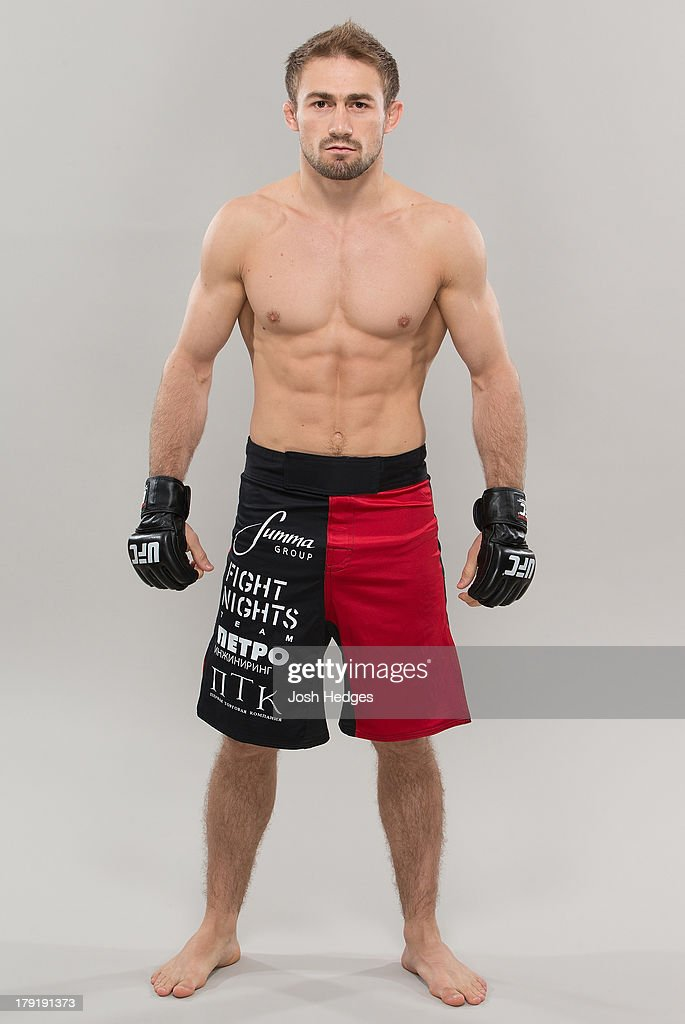 Ali Bagautinov poses for a portrait during a UFC photo session on September 1 2013 in Belo Horizonte Brazil