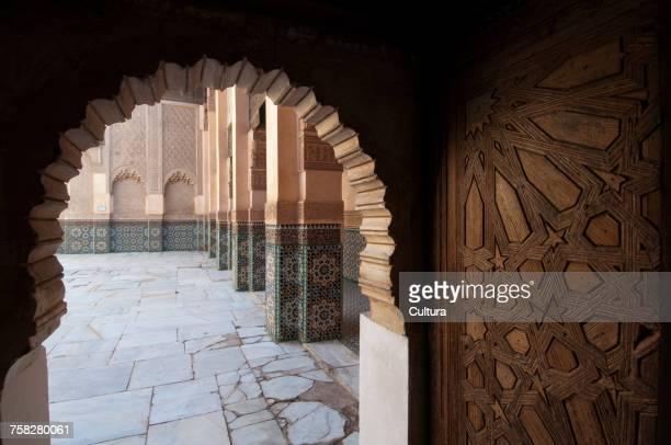 Ali ben Youssef Medersa Koranic School, Marrakech, Morocco