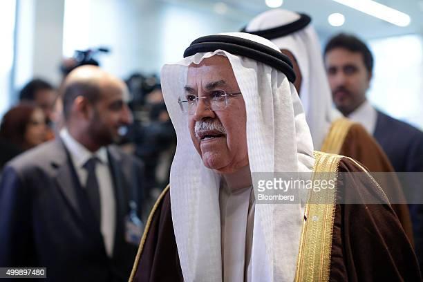 Ali Bin Ibrahim alNaimi Saudi Arabia's petroleum and mineral resources minister arrives ahead of the 168th Organization of Petroleum Exporting...