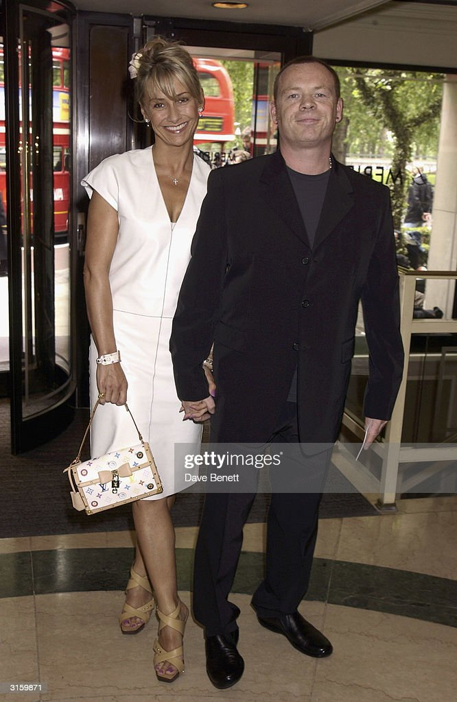 Ali Campbell and wife attend The 2003 Ivor Novello Awards at The Grovesnor House Hotel on May 23, 2003 in London.
