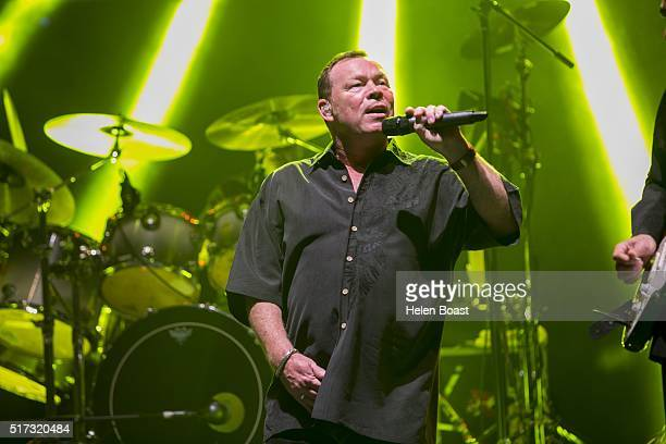 Ali Campbell of UB40 performs at Irish Village on March 24 2016 in Dubai United Arab Emirates