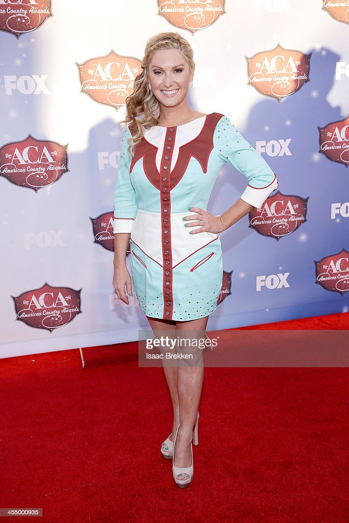 Ali Dee arrives at the American Country Awards 2013 at the Mandalay Bay Events Center on December 10, 2013 in Las Vegas, Nevada.