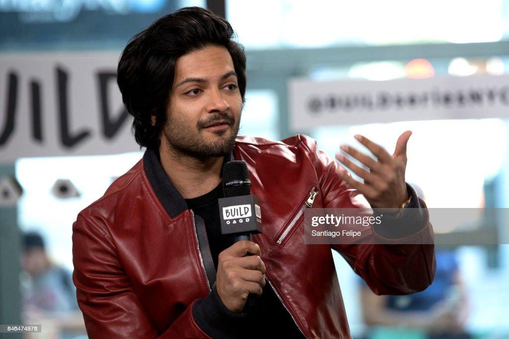 Ali Fazal attends Build Presents to discuss the film 'Victoria & Abdul' at Build Studio on September 13, 2017 in New York City.