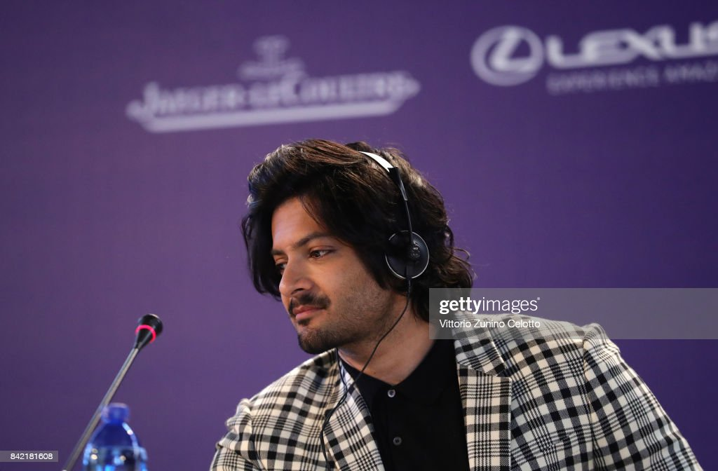Ali Fazal attends the Victoria & Abdul and Jaeger-LeCoultre Glory to the Filmmake Award Press Conference during the 74th Venice International Film Festival at Palazzo del Casino on September 3, 2017 in Venice, Italy.
