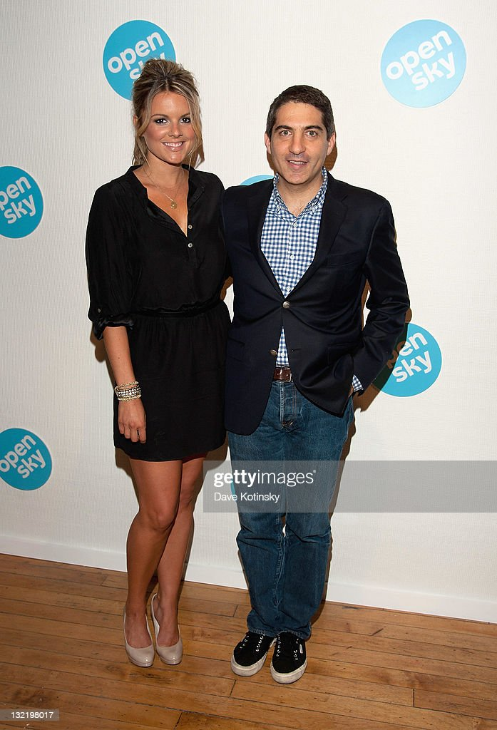<a gi-track='captionPersonalityLinkClicked' href=/galleries/search?phrase=Ali+Fedotowsky&family=editorial&specificpeople=6799459 ng-click='$event.stopPropagation()'>Ali Fedotowsky</a> and John Caplan attend the OpenSky Pop-Up Gallery launch at 477 Broome Street on November 10, 2011 in New York City.
