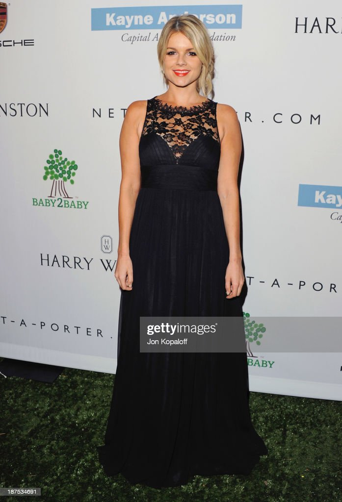 <a gi-track='captionPersonalityLinkClicked' href=/galleries/search?phrase=Ali+Fedotowsky&family=editorial&specificpeople=6799459 ng-click='$event.stopPropagation()'>Ali Fedotowsky</a> arrives at the 2nd Annual Baby2Baby Gala at The Book Bindery on November 9, 2013 in Culver City, California.