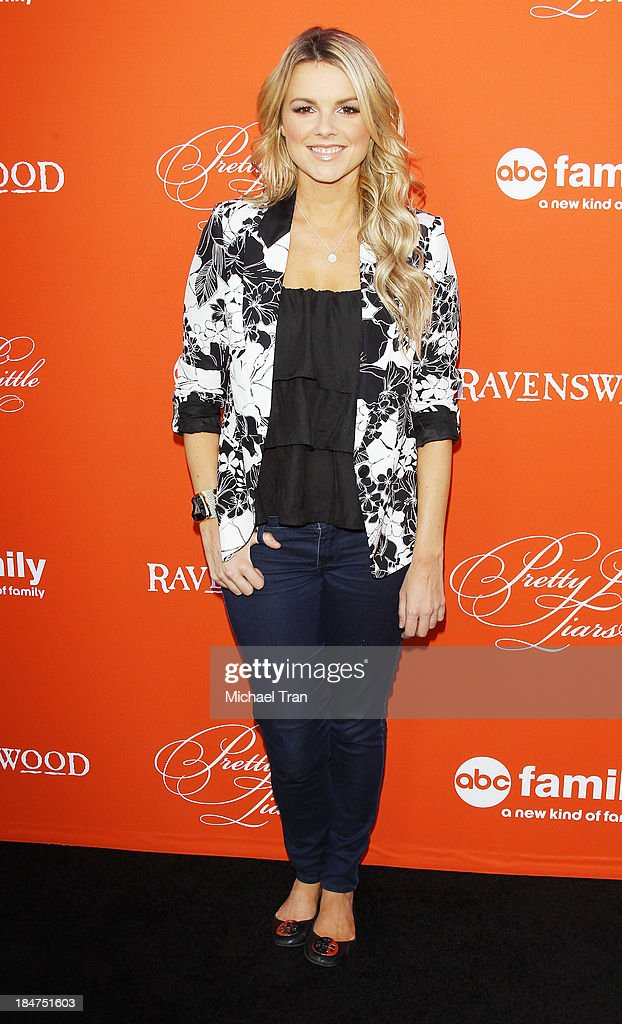 <a gi-track='captionPersonalityLinkClicked' href=/galleries/search?phrase=Ali+Fedotowsky&family=editorial&specificpeople=6799459 ng-click='$event.stopPropagation()'>Ali Fedotowsky</a> arrives at the 'Pretty Little Liars' celebrates Halloween episode held at Hollywood Forever on October 15, 2013 in Hollywood, California.