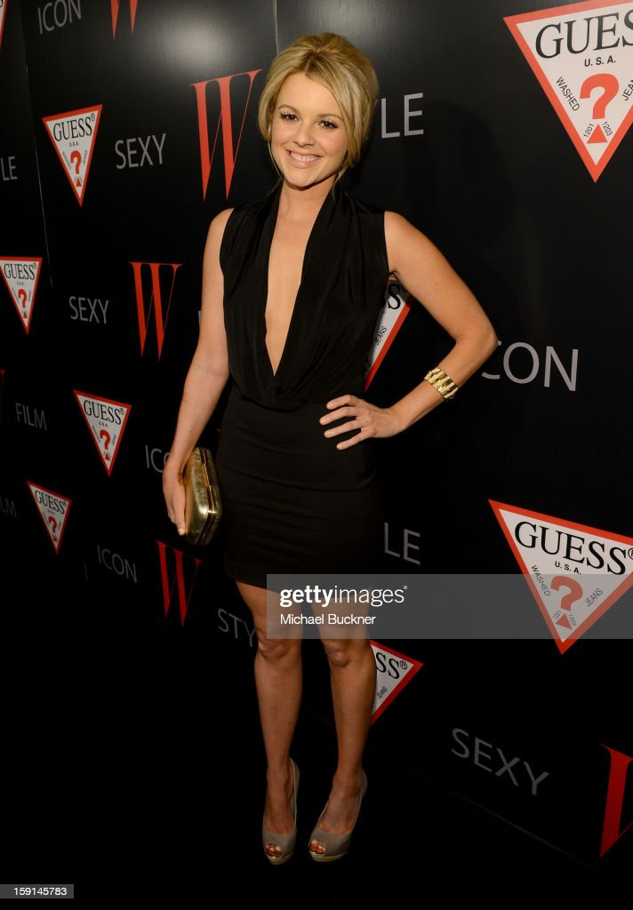 Ali Fedotowsky attends '30 Years Of Fashion And Film And The Next Generation Of Style Icons' with W Magazine and GUESS at Laurel Hardware on January 8, 2013 in West Hollywood, California.