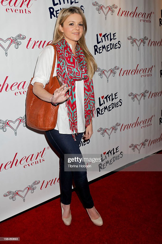 Ali Fedotowsky attends the Truehearts winter wonderland charity gala, benefiting Children's Hospital Los Angeles at Avalon on December 16, 2012 in Hollywood, California.