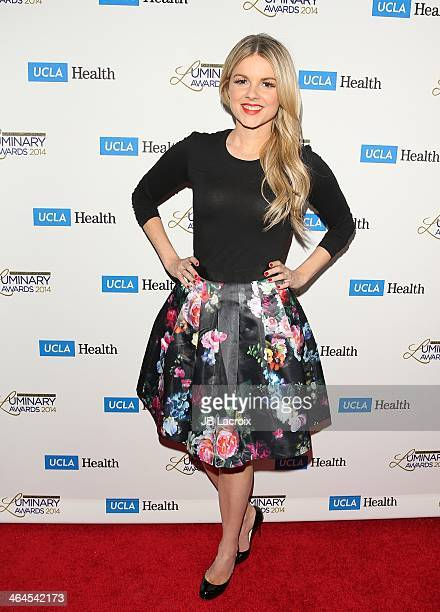 Ali Fedotowsky attends the UCLA Head Neck Surgery Luminary Awards held at Regent Beverly Wilshire Hotel on January 22 2014 in Beverly Hills California