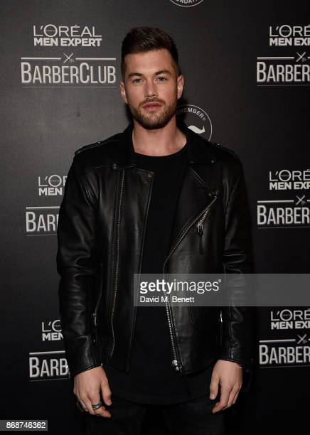 Ali Gordon attends the L'Oreal Paris Men Expert and Movember Charity Partnership event at The Bike Shed on October 31 2017 in London England