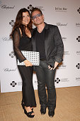 Ali Hewson and Bono attend the Leonardo Dicaprio Gala at Domaine Bertaud Belieu on July 23 2014 in SaintTropez France