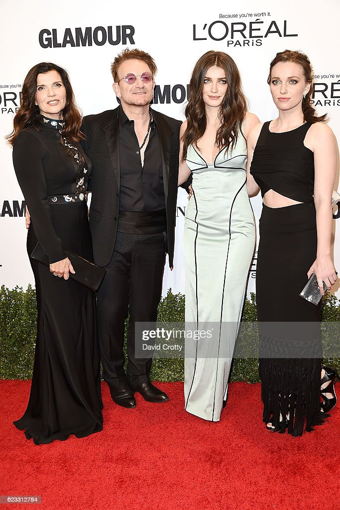 ali-hewson-bono-eve-hewson-and-jordan-hewson-attend-the-glamour-2016-picture-id623312784