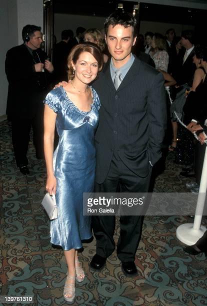 Ali Hillis and Kerr Smith at the 10th Annual GLAAD Media Awards Century Plaza Hotel Los Angeles