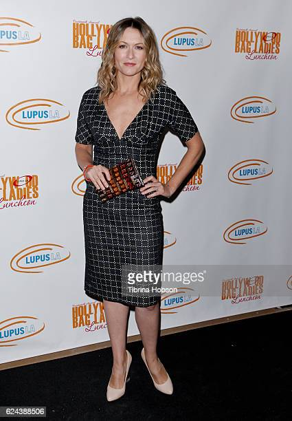 Ali Hillis attends the 14th annual Lupus LA Hollywood Bag Ladies Luncheon at The Beverly Hilton Hotel on November 18 2016 in Beverly Hills California