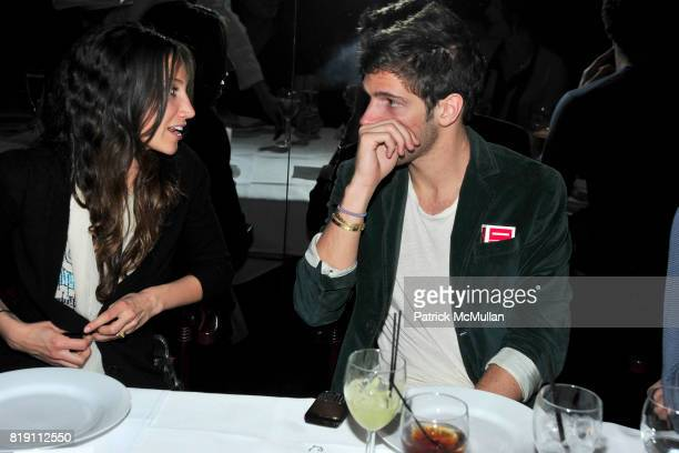Ali Kay and PC Valmorbida attend LARRY GAGOSIAN hosts a Private Dinner for the ANDREAS GURSKY Opening Exhibition at GAGOSIAN GALLERY at Mr Chow on...