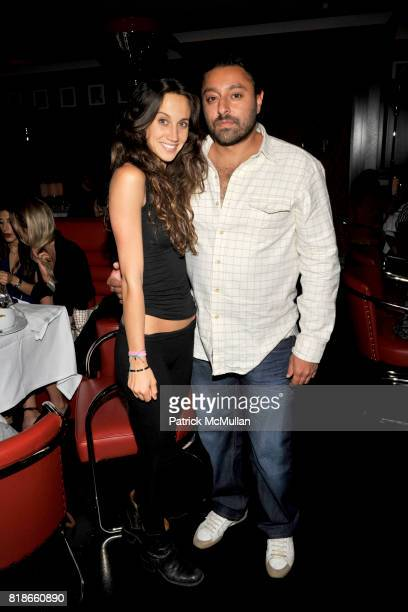Ali Kay and Vikram Chatwal attend Ali Kay Keep Me Collection Dinner hosted by Vikram Chatwal and Jeffrey Jah at The Lambs Club on September 15 2010...