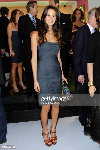 Ali Kay attends Whitney Museum American Art Awards Gala at DVF Studios 820 Washington St on May 6 2010 in New York City