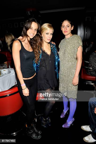 Ali Kay Tara Subkoff and Arden Wohl attend Ali Kay Keep Me Collection Dinner hosted by Vikram Chatwal and Jeffrey Jah at The Lambs Club on September...