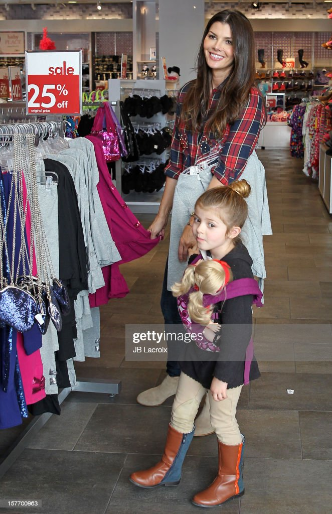 <a gi-track='captionPersonalityLinkClicked' href=/galleries/search?phrase=Ali+Landry&family=editorial&specificpeople=543155 ng-click='$event.stopPropagation()'>Ali Landry</a> and Estela Ines Monteverde are seen shopping at The Children's Place on December 5, 2012 in Los Angeles, California.