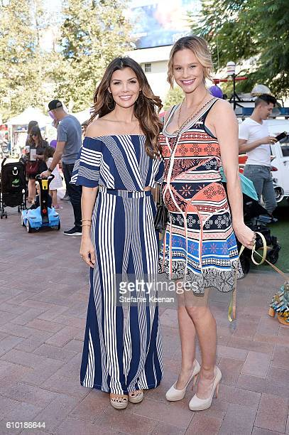Ali Landry and Meghan King Edmonds attend Step2 Favoredby Present The 5th Annual Red Carpet Safety Awareness Event on September 24 2016 in Culver...