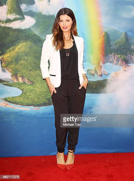 Ali Landry arrives at the Los Angeles Premiere of Disney's 'The Pirate Fairy' held at Walt Disney Studio Lot on March 22 2014 in Burbank California