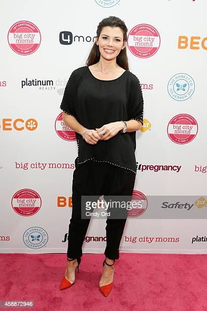 Ali Landry attends Big City Moms Biggest Baby Shower Ever at the Metropolitan Pavilion on November 12 2014 in New York City