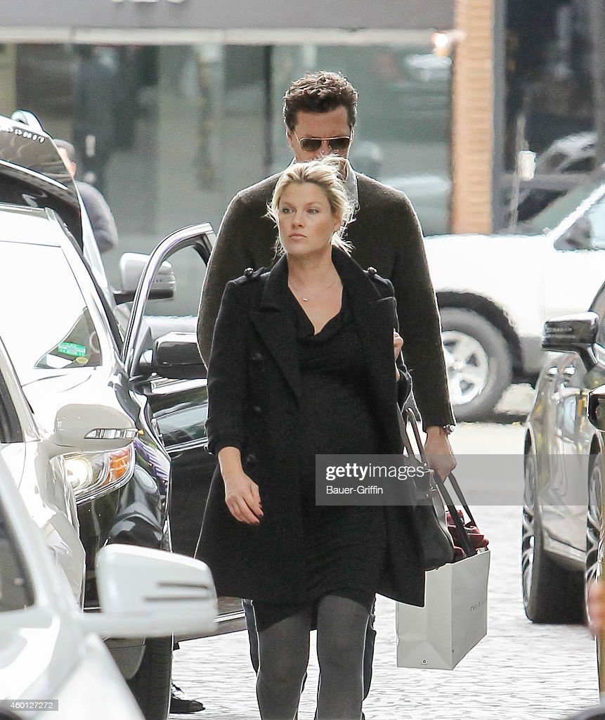 Ali Larter and Hayes MacArthur are seen on December 07 2014 in Los Angeles California