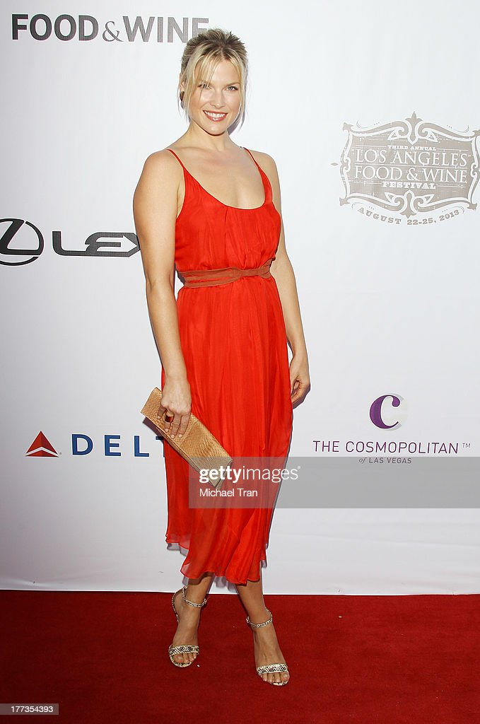 <a gi-track='captionPersonalityLinkClicked' href=/galleries/search?phrase=Ali+Larter&family=editorial&specificpeople=208082 ng-click='$event.stopPropagation()'>Ali Larter</a> arrives at the 2013 Los Angeles Food & Wine Festival - 'Festa Italiana With Giada De Laurentiis' opening night held on August 22, 2013 in Los Angeles, California.