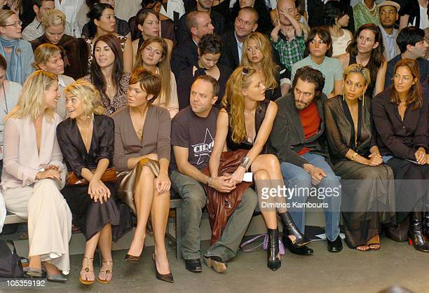 Ali Larter Ashley Olsen Mandy Moore Lars Ulrich Connie Nielsen Vincent Gallo Rosario Dawson and Kelly Klein