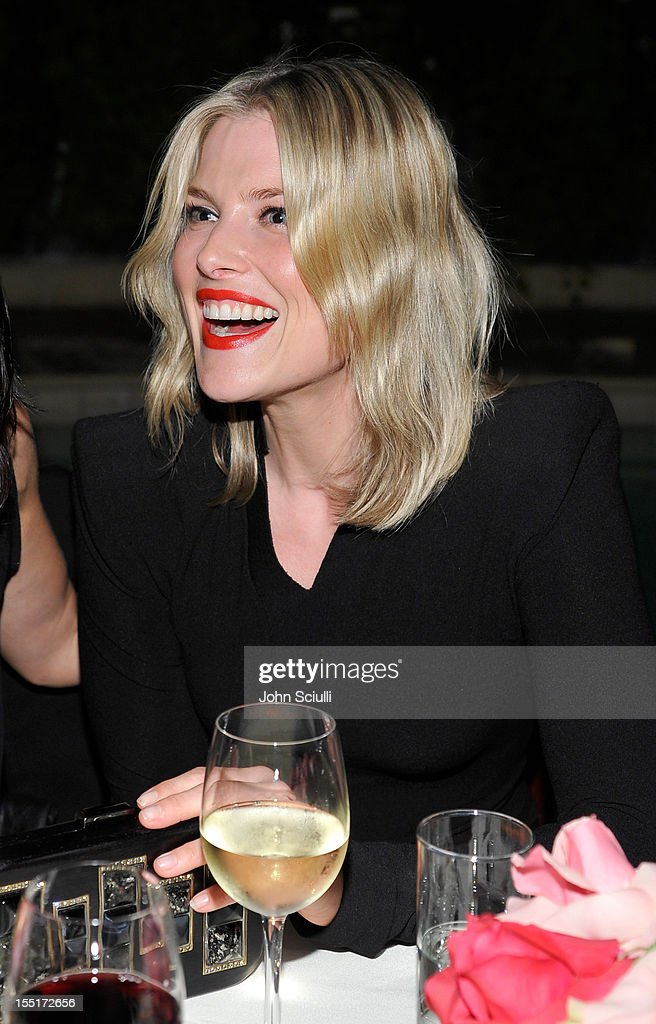 Ali Larter attends a dinner celebrating the Devi Kroell Spring Summer 2013 Collection at Sunset Tower on November 1, 2012 in West Hollywood, California.
