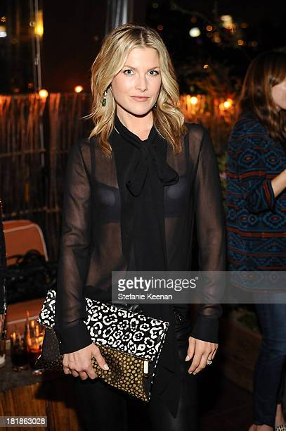 Ali Larter attends an intimate dinner event hosted by Elle magazine and J Brand at Petit Ermitage Hotel on September 25 2013 in West Hollywood...