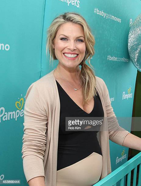 Ali Larter attends Pampers Celebrates Fun Morning Moments at Children's Museum of Manhattan on August 20 2014 in New York City