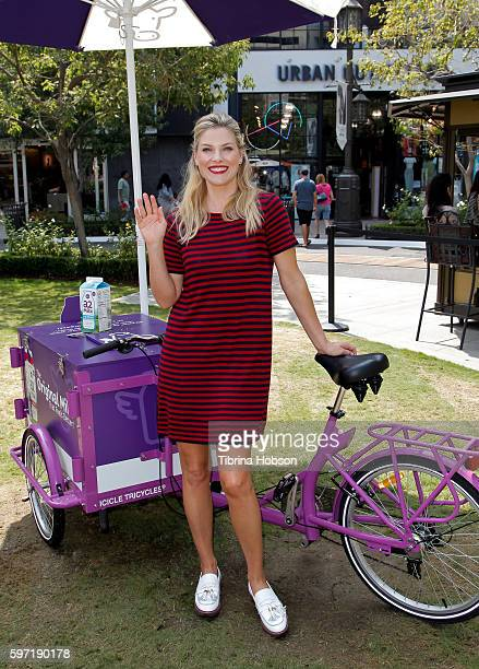 Ali Larter attends the a2 Milk's Hello Bubbles Goodbye Troubles Event at The Americana at Brand on August 27 2016 in Glendale California