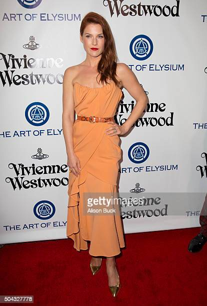Ali Larter attends the Art of Elysium 2016 HEAVEN Gala presented by Vivienne Westwood Andreas Kronthaler at 3LABS on January 9 2016 in Culver City...