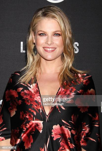 Ali Larter attends the 'Legends' Series Premiere at Tribeca Grand Screening Room on August 5 2014 in New York City
