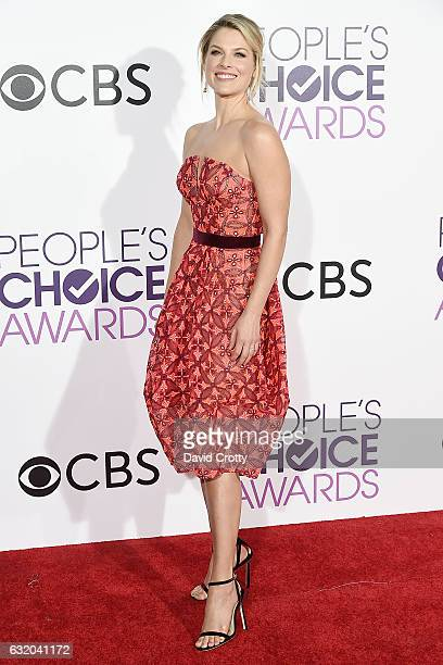 Ali Larter attends the People's Choice Awards 2017 Arrivals at Microsoft Theater on January 18 2017 in Los Angeles California