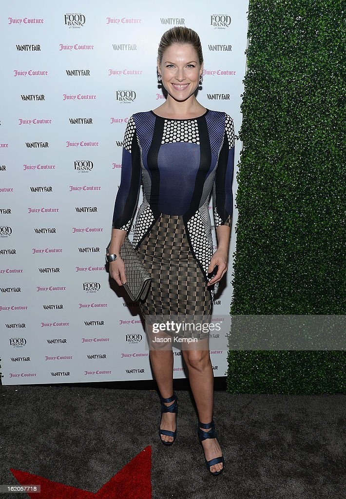 Ali Larter attends the Vanity Fair And Juicy Couture Celebration Of The 2013 Vanities Calendar With Olivia Munn at Chateau Marmont on February 18, 2013 in Los Angeles, California.