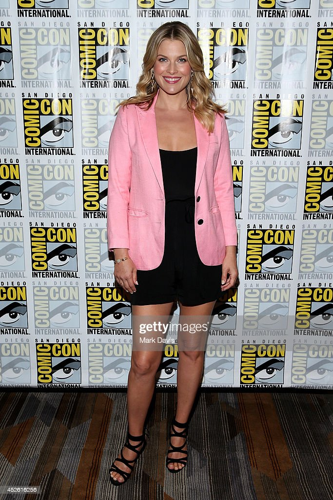 Ali Larter attends TNT's 'Legends' Press Line during ComicCon International 2014 at Hilton Bayfront on July 24 2014 in San Diego California