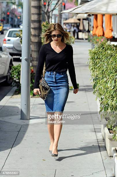 Ali Larter is seen on March 03 2014 in Los Angeles California