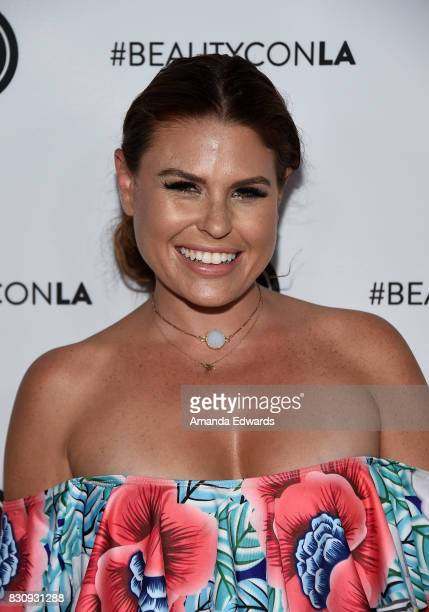 Ali Levine attends the 5th Annual Beautycon Festival Los Angeles at the Los Angeles Convention Center on August 12 2017 in Los Angeles California