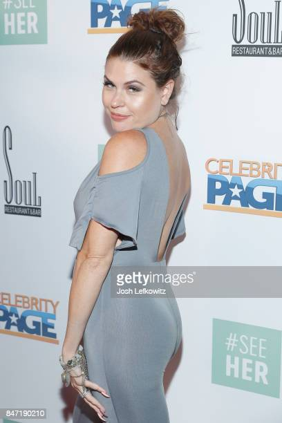 Ali Levine attends the #SeeHER PreEmmy Party Hosted By Celebrity Page TV and ANA at Soul Hollywood Restaurant Bar on September 14 2017 in Hollywood...