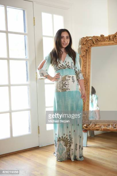 Ali Levine Styles Ava Cantrell at TAP The Artists Project Style House on August 3 2017 in Los Angeles California