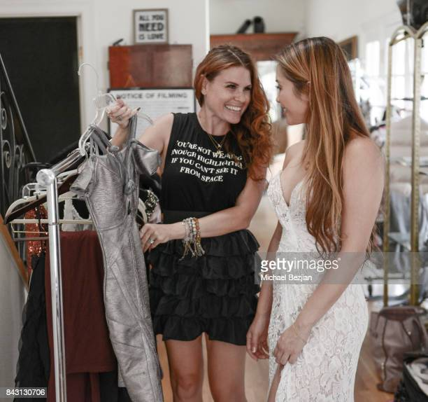 Ali Levine styles Kathryn Le wearning Dalia McPhee at TAP The Artists Project Style House Welcomes Kathryn Le on September 5 2017 in Los Angeles...
