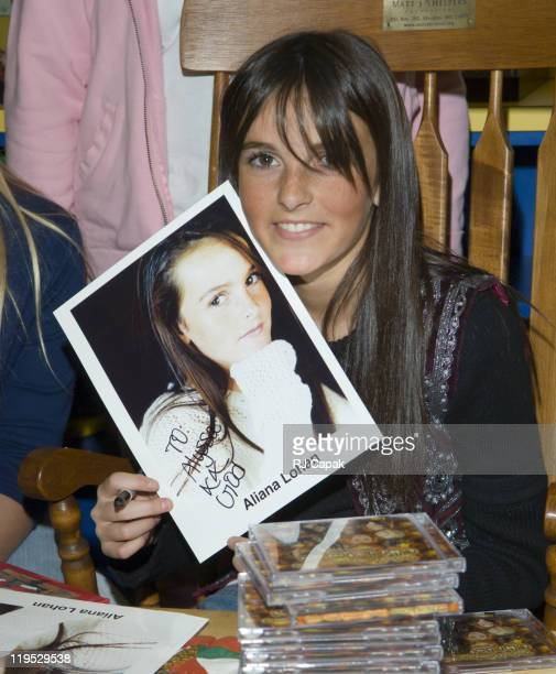 Ali Lohan during Ali Lohan Brings Christmas Cheer to Kids with Cancer at the Ronald McDonald House December 7 2005 at Ronald McDonald House of New...
