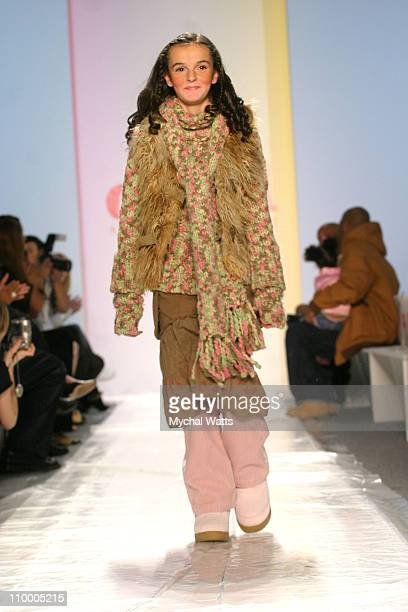 Ali Lohan during Olympus Fashion Week Fall 2005 Child Magazine 7th on Sixth Runway at The Atelier Bryant Park in New York City New York United States