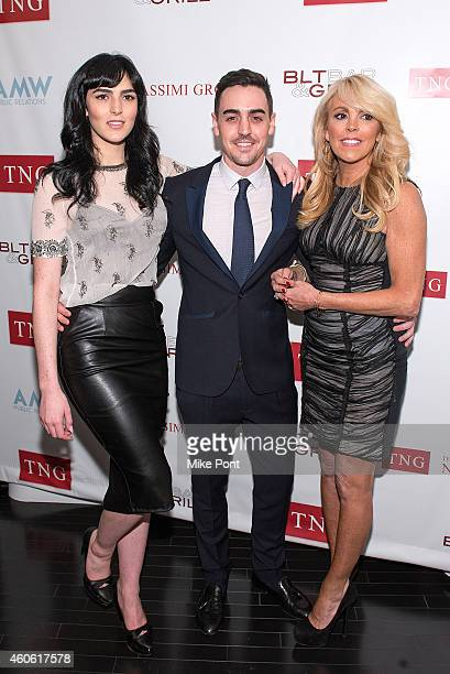 Ali Lohan Michael Lohan Jr and Dina Lohan attend the TNG Holiday Launch Celebration at the W Hotel Dowtown on December 17 2014 in New York City